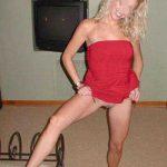 Blonde cougar sexy veut s'envoyer en l'air sur Lunéville